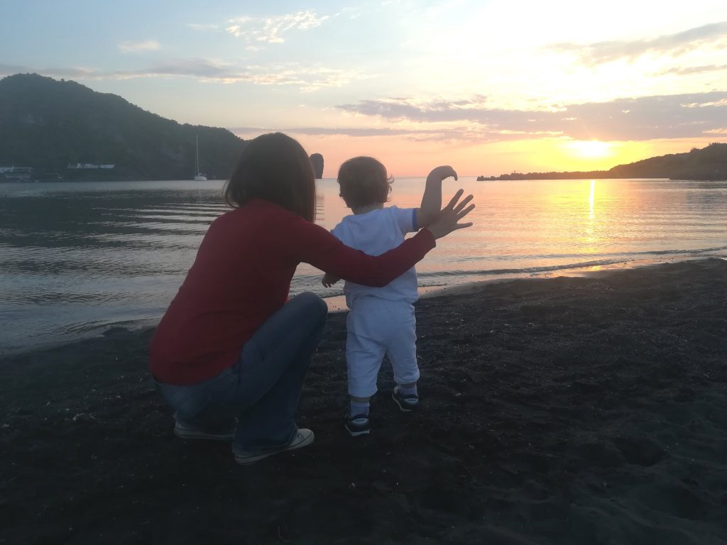 isole eolie con bambini