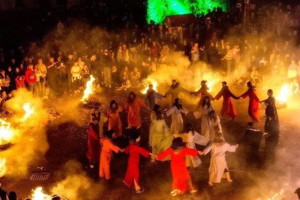 festa del fuoco di stromboli