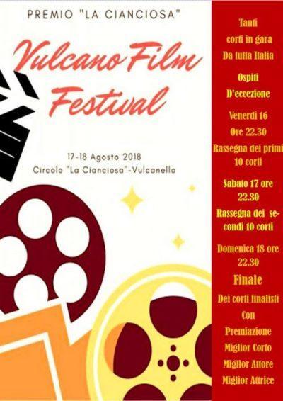 Ad agosto il Vulcano Film Festival