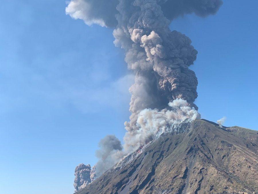 Paura a Stromboli: l'eruzione di oggi